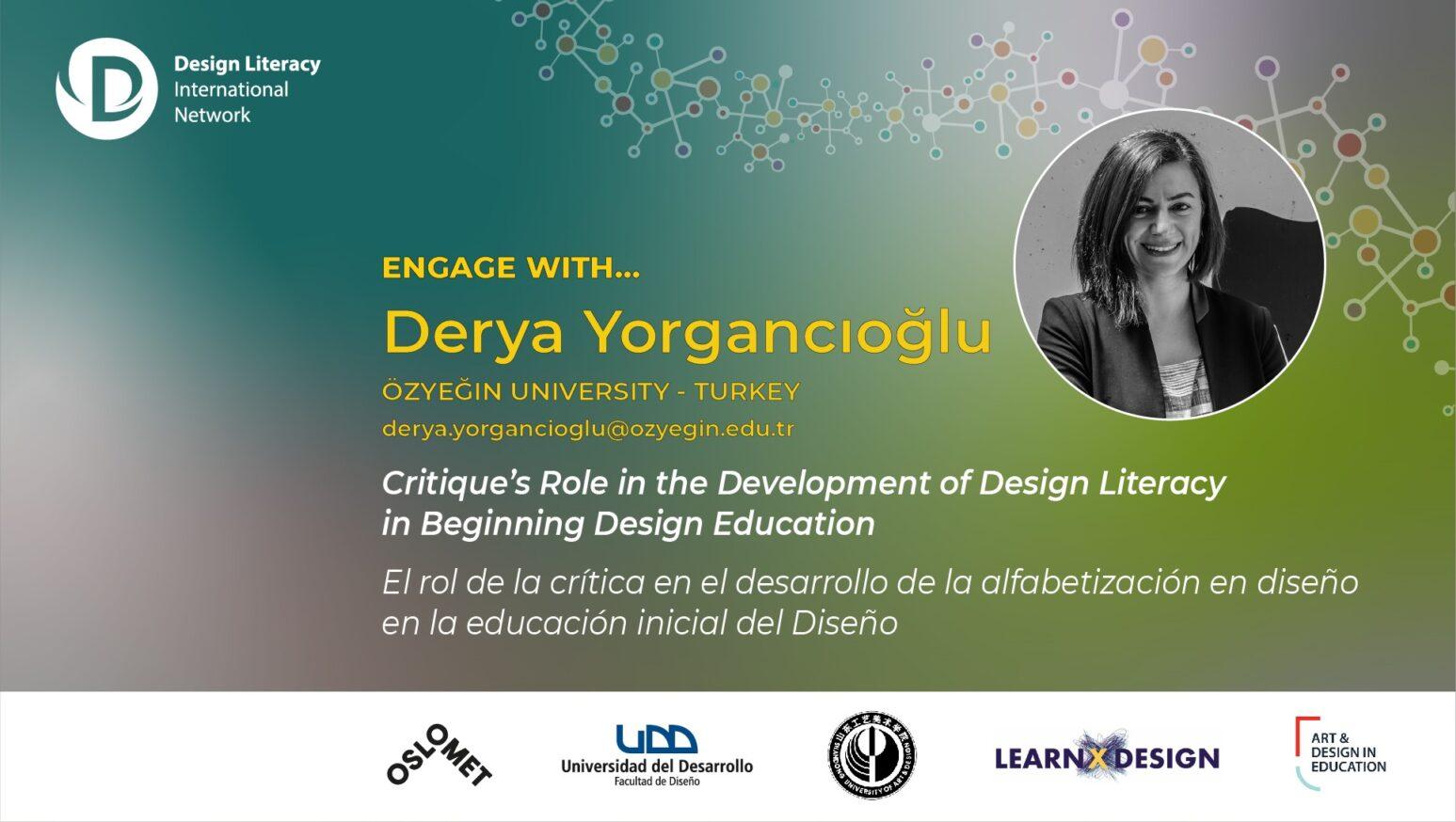 Engage with Derya Yorgancıoğlu