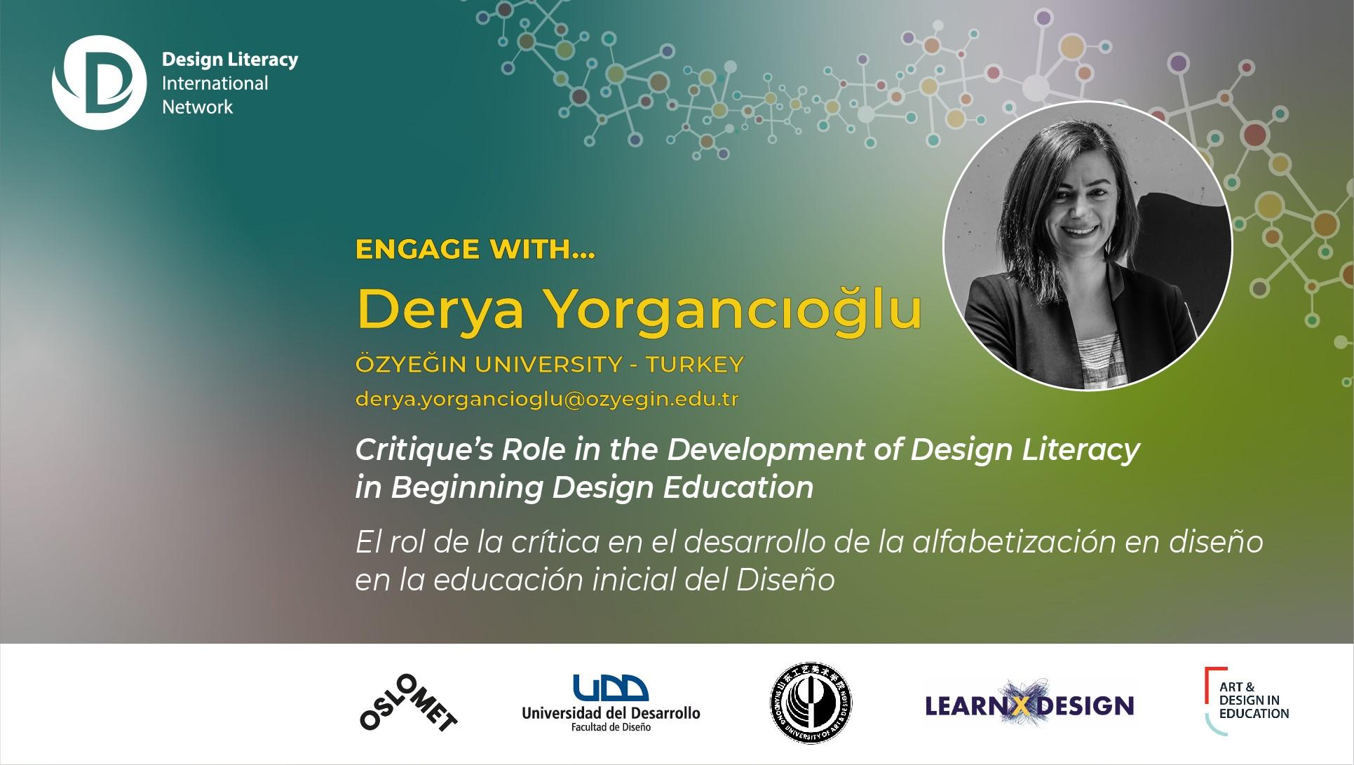Engage with Derya Yorgancıoğlu   Event Archive