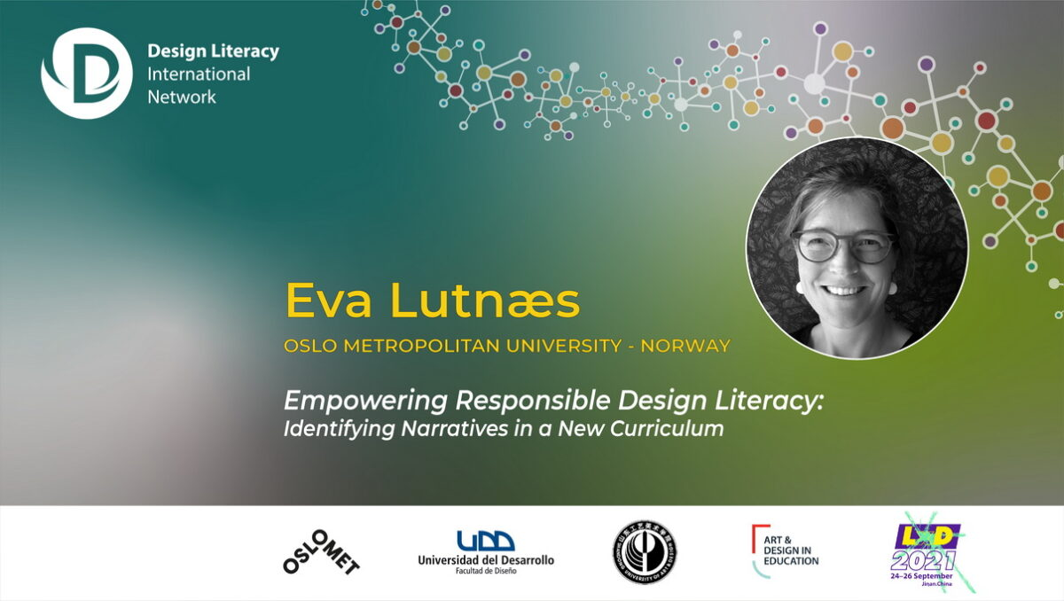 Engage with Eva Lutnæs on Tuesday 20 October 2020