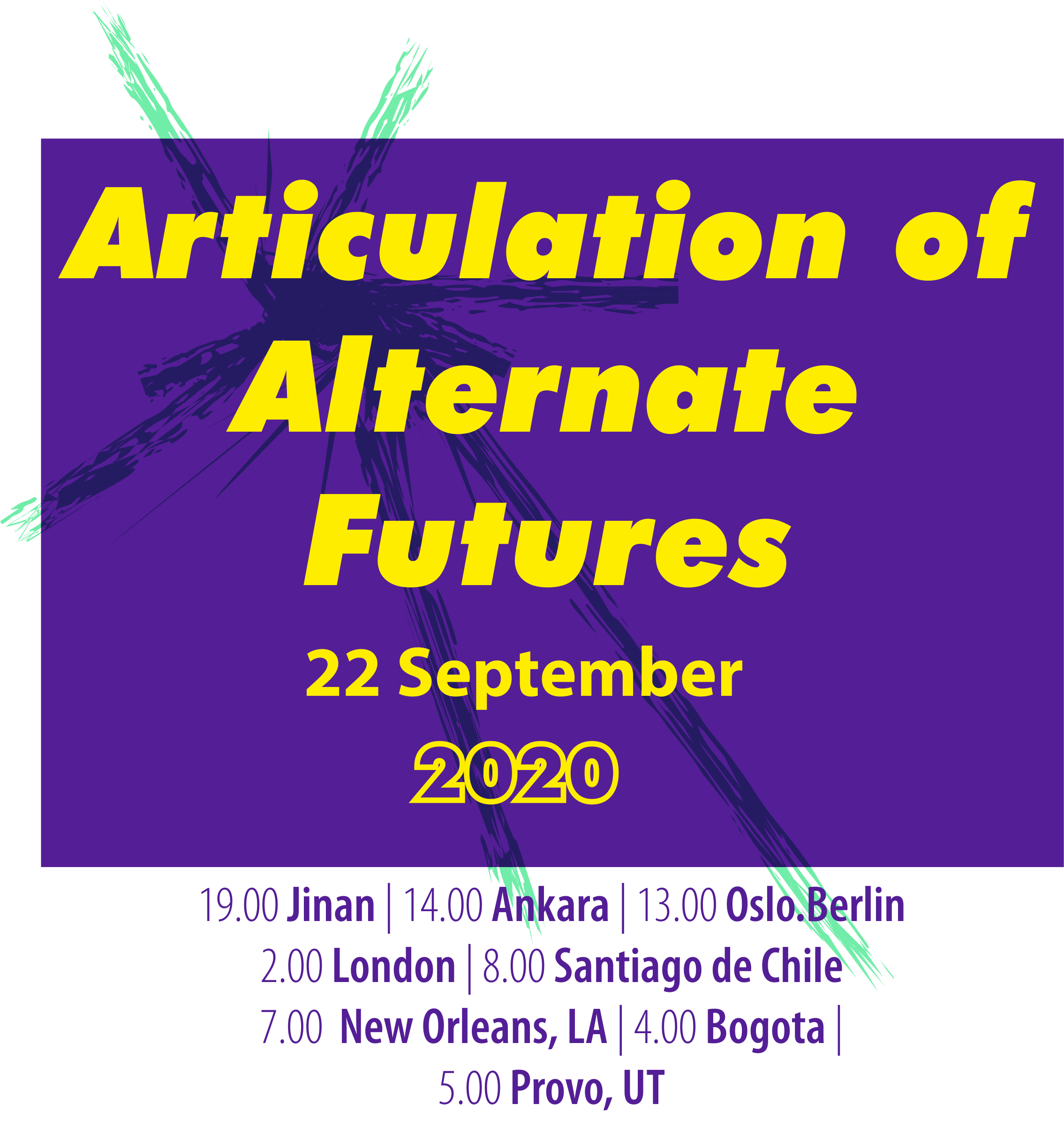 Articulation of Alternate Futures: Online Symposium | Event Archive