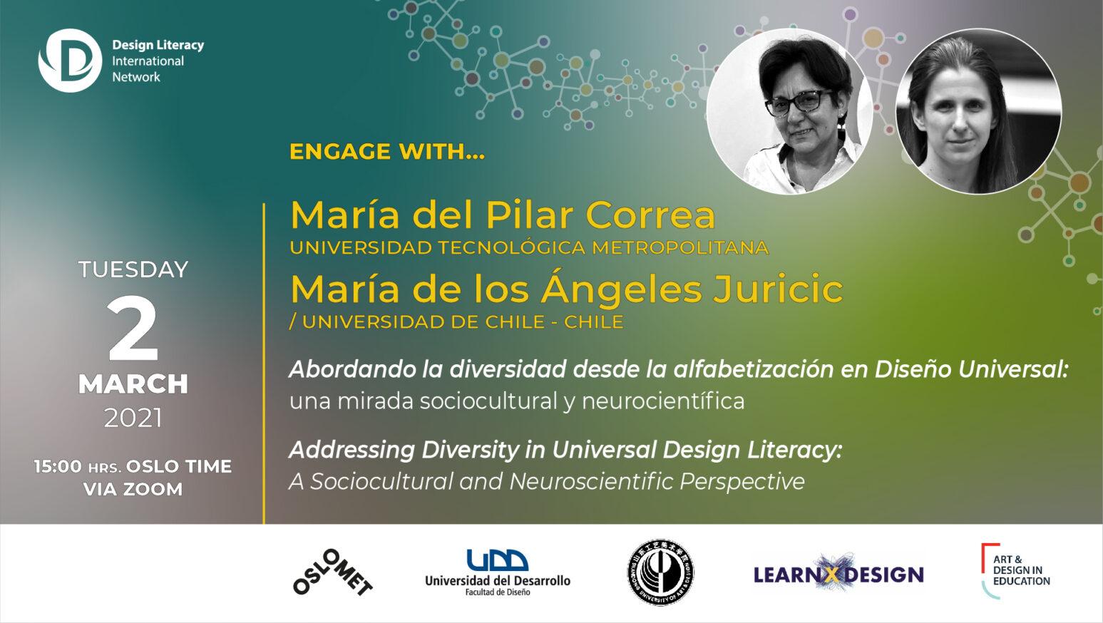 Engage with María del Pilar Correa & María de los Ángeles Juricic