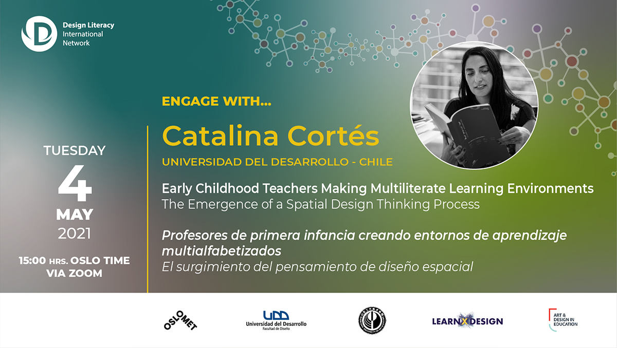 Engage with Catalina Cortés | Design Literacy International Network event