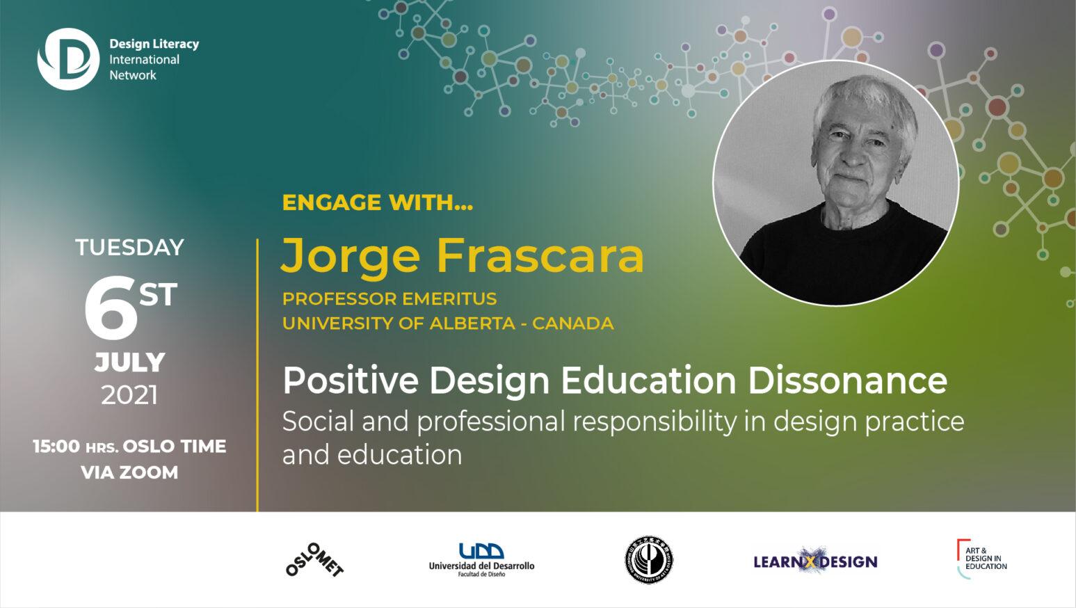 Jorge Frascara banner