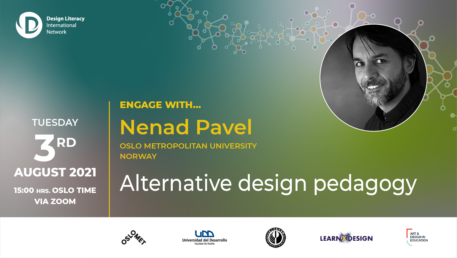 You are currently viewing Engage with Nenad Pavel | Design Literacy International Network event