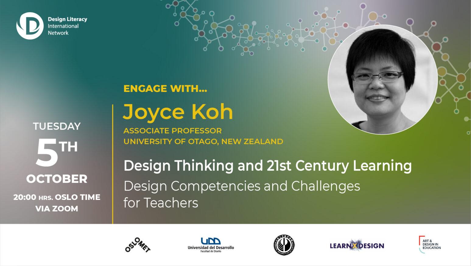 Joyce Koh talk bannner