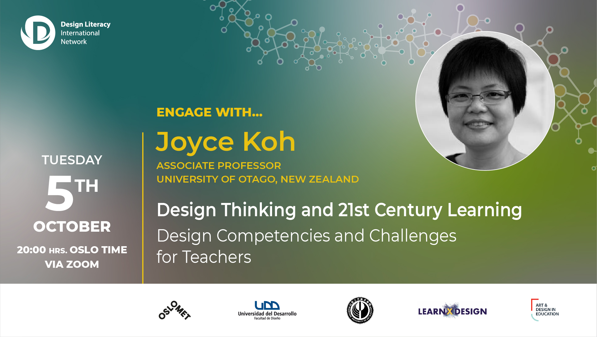 You are currently viewing Joyce Koh | Design Literacy International Network event